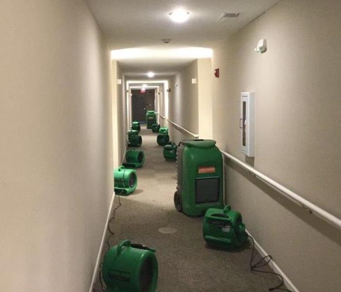 Water Damage on Commercial Property