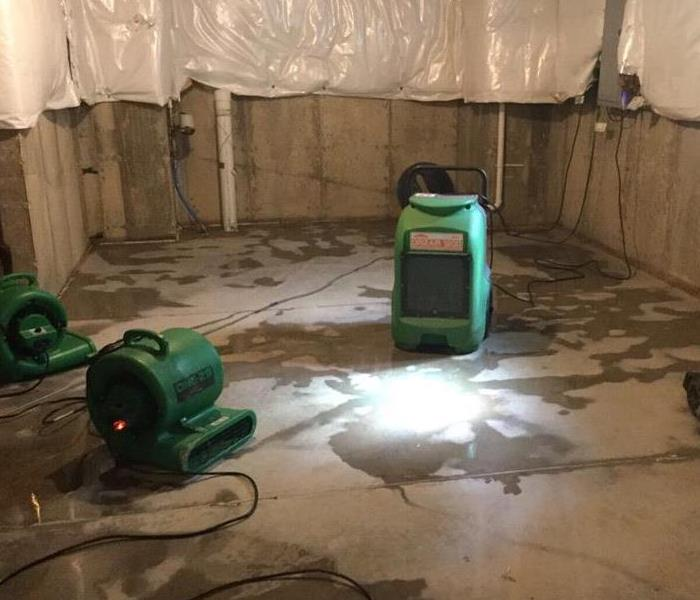 Flooded Basement In Commercial Property: SERVPRO Of Pike, Floyd & Knott Counties Gallery Photos
