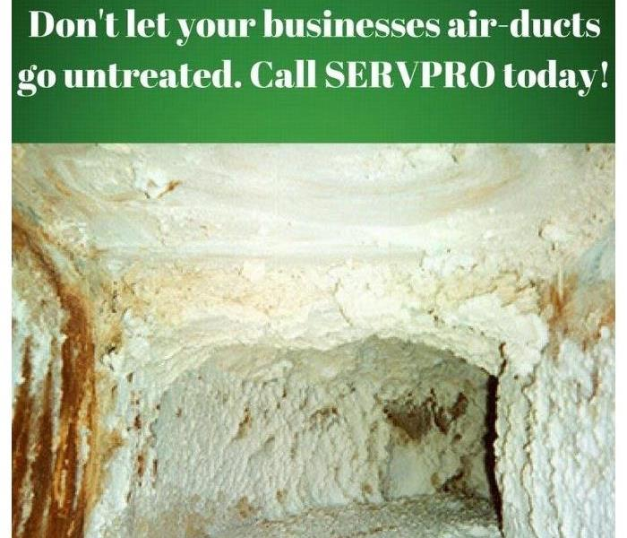 Commercial Commercial business owners of Pike, Floyd, & Knott Counties: Need an HVAC cleaning? SERVPRO is Here to Help!