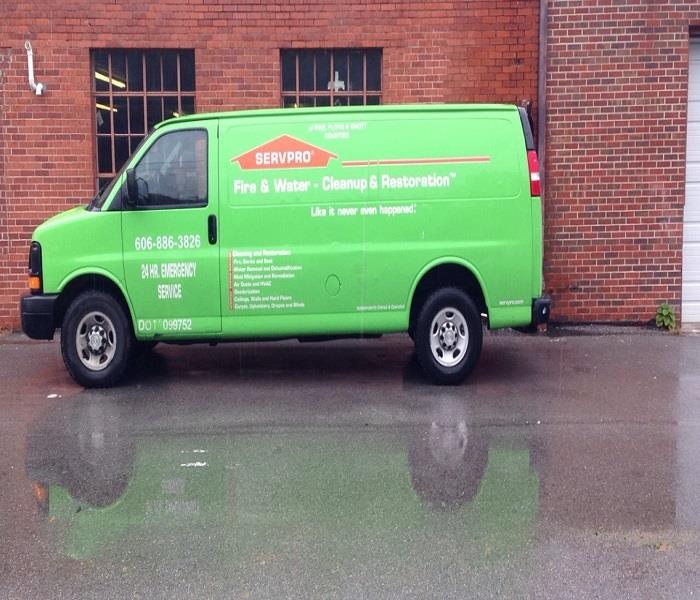 General For Immediate Service in Pike, Floyd & Knott Counties, Call SERVPRO!