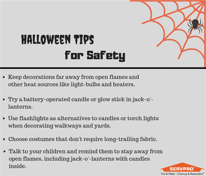 Fire Damage Tips to Stay Safe During Halloween